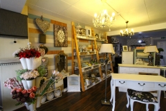 A selection of the home accessories, faux botanicals and furniture in our shop.