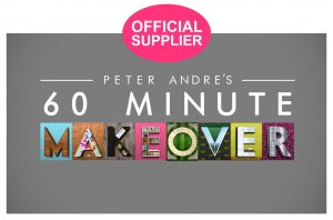 60 minute makeover Official Supplier logo