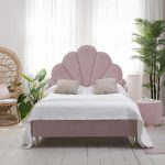 Scalloped furniture bedroom design