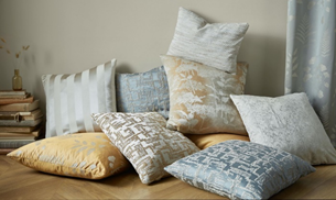 coloured cushions